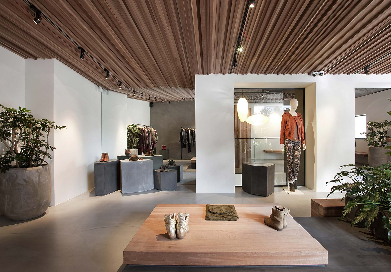 Showroom Beton Cire Paris isabel marant – ciguë